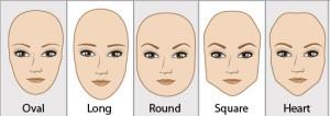 Pour plus d'informations sur les formes de visage, visitez: https://www.quora.com/What-is-your-face-shape