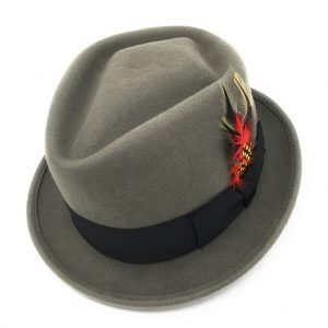 Chapeau Pork Pie / Trilby Diamond Crown