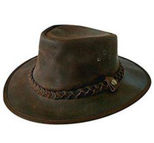 Chapeau de brousse en cuir Explorer