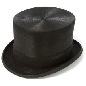 Chapeau haut de forme en feutre de fourrure Christys Melusine