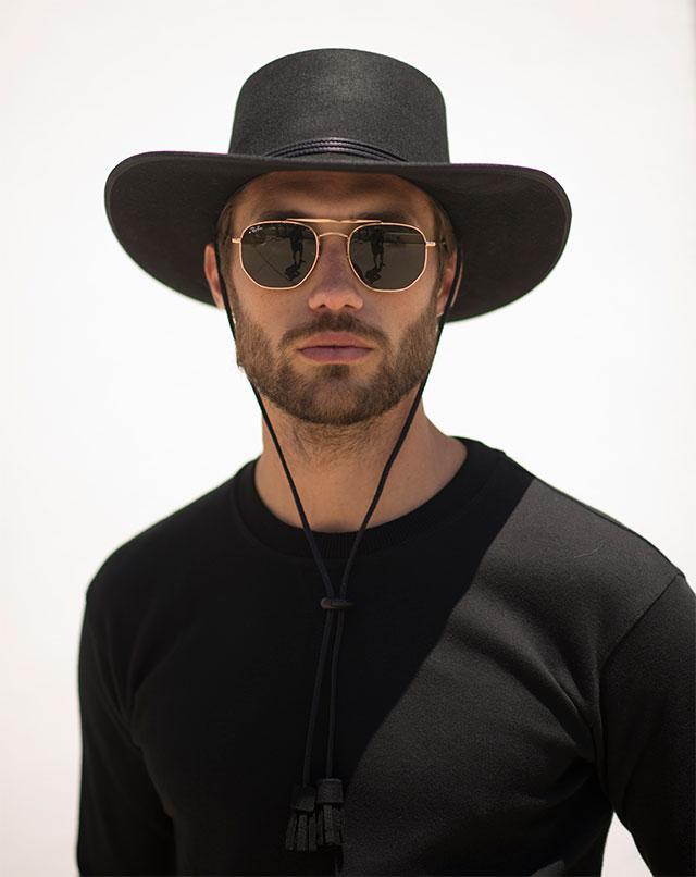 Chapeaux de cowboy pour hommes
