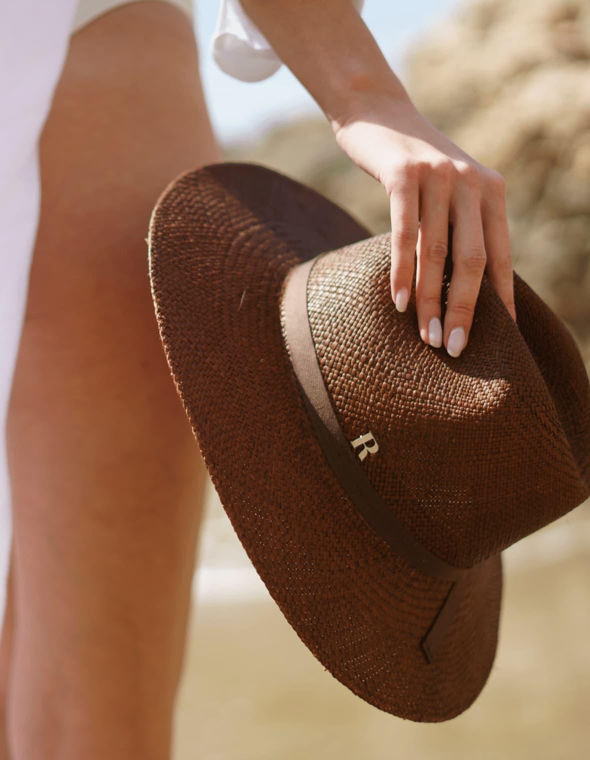 Chapeau Fedora Panama Paros pour la plage