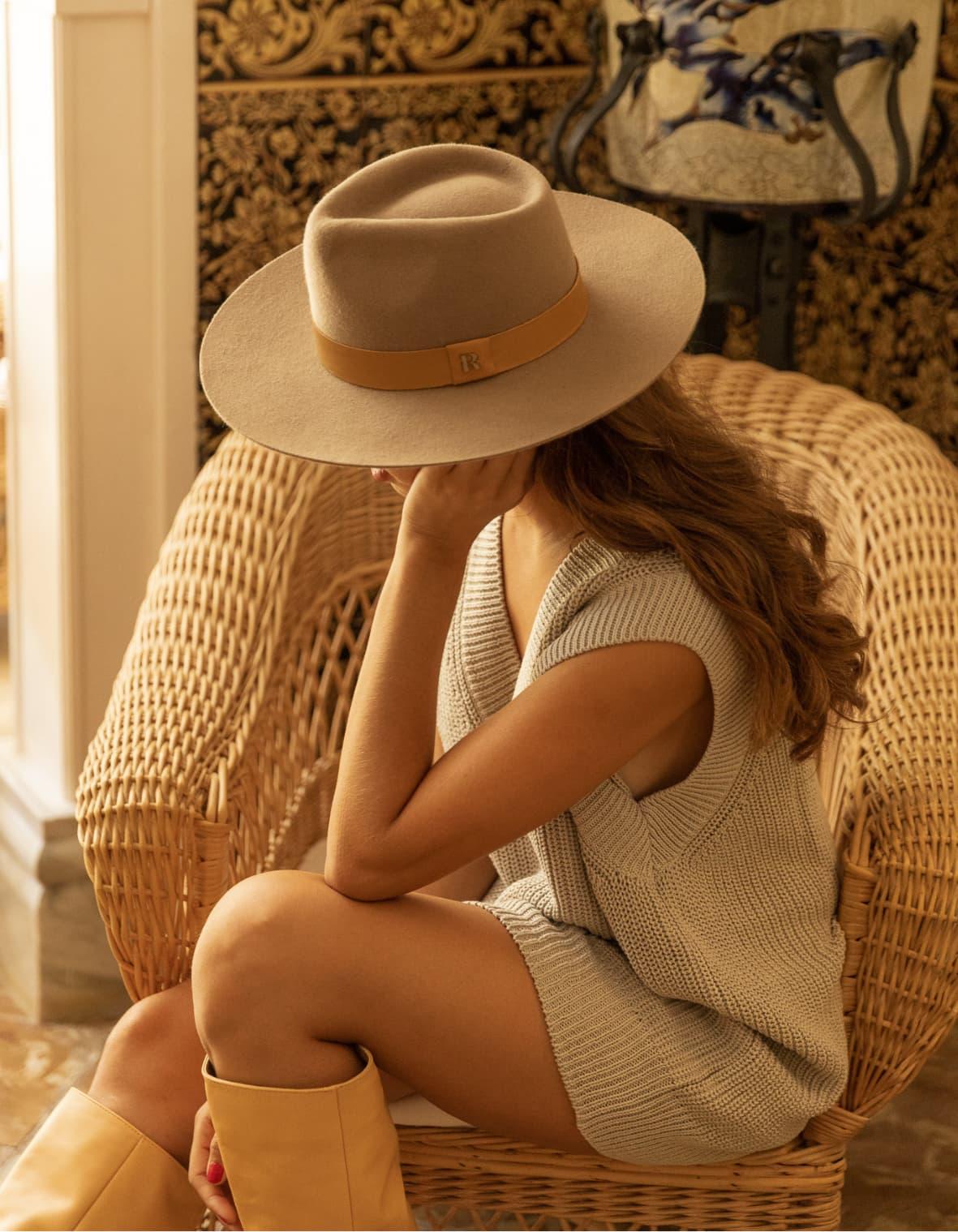 chapeau de feutre d'hiver tendances style fedora